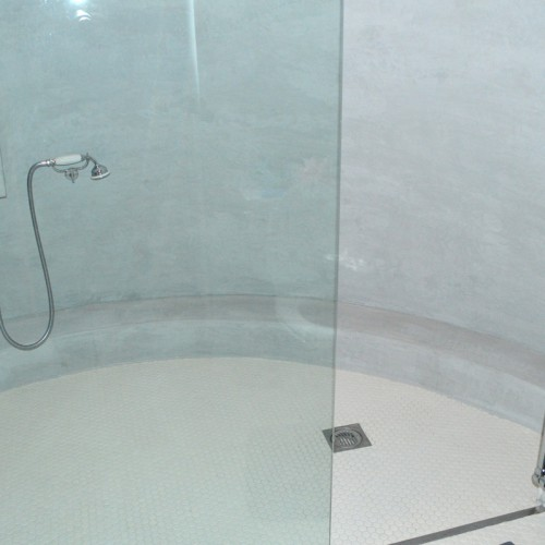 Cone shaped shower