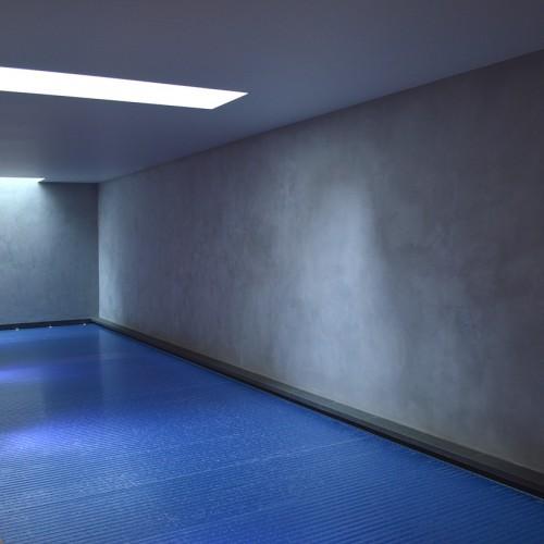 Low maintenance pool area