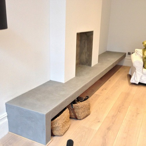 Fireplace Bench